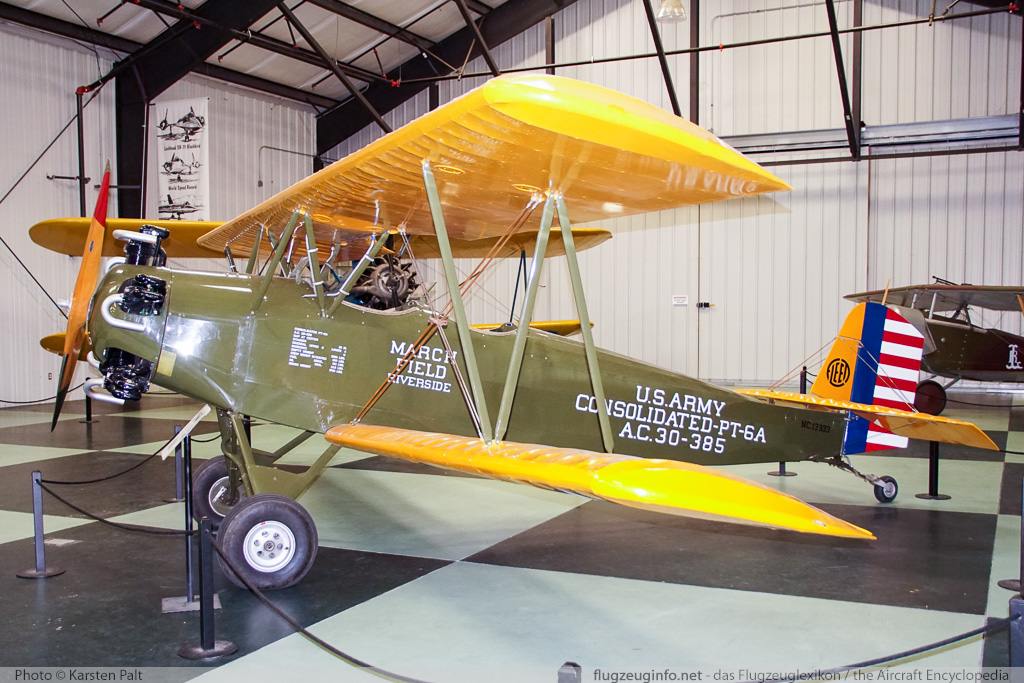 Consolidated PT-6A United States Army Air Corps (USAAC)  30-385  March Field Air Museum Riverside, CA 2015-06-04 � Karsten Palt, ID 11279