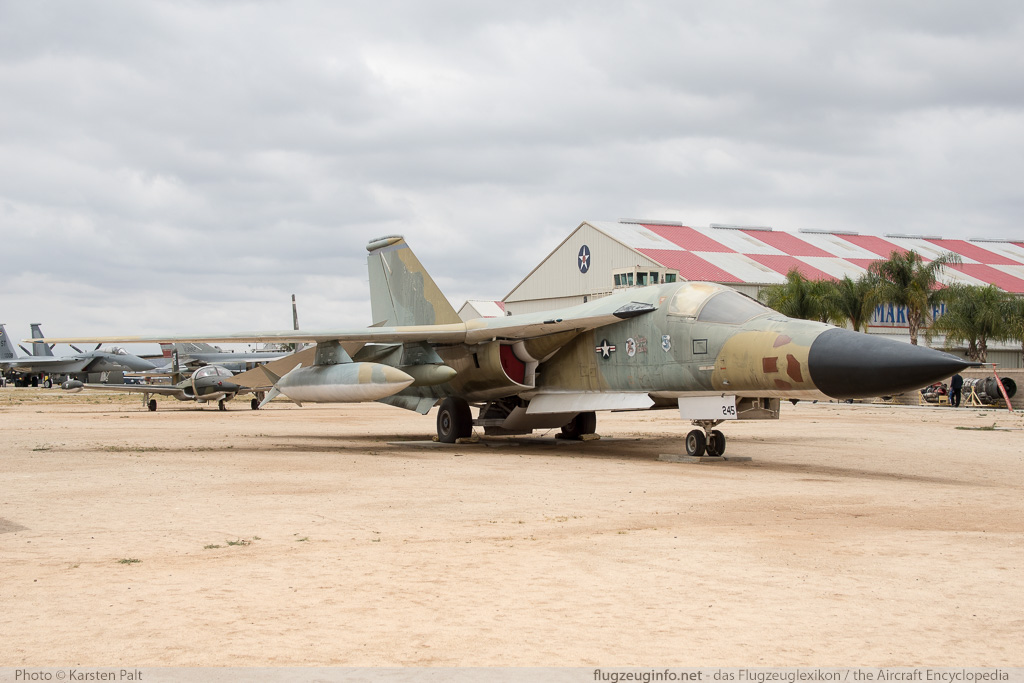 General Dynamics FB-111A Aardvark United States Air Force (USAF) 68-0245 B1-17 March Field Air Museum Riverside, CA 2015-06-04 � Karsten Palt, ID 11299