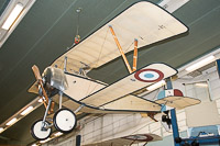 Nieuport 11 French Air Force / Armee de l Air   Musee de l Air et de l Espace Paris Le Bourget 2015-04-04, Photo by: Karsten Palt