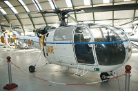 Aerospatiale SA-319B Alouette III Spanish Air Force HD.16-1 1952 Museo del Aire Madrid 2014-10-23, Photo by: Karsten Palt
