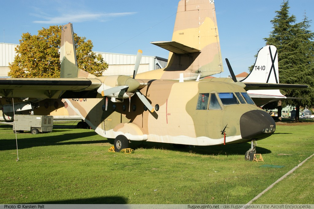 CASA C-212-100 Spanish Air Force TR.12A-3 B-1-1 Museo del Aire Madrid 2014-10-23 � Karsten Palt, ID 10638