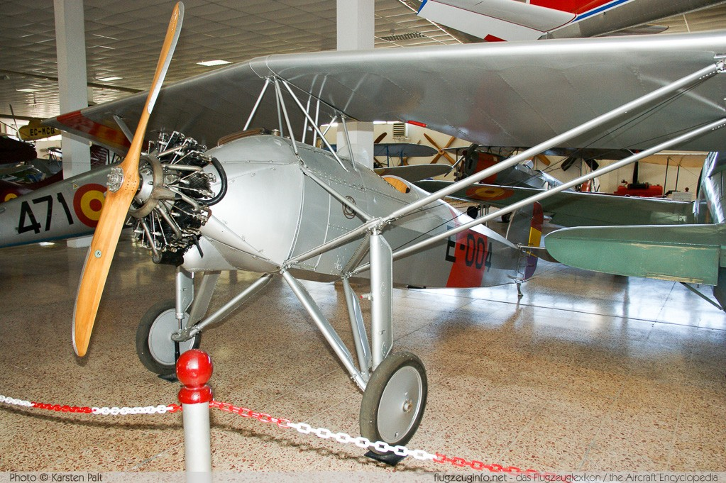 Morane-Saulnier MS.181 Spanish Air Force E-004  Museo del Aire Madrid 2014-10-23 � Karsten Palt, ID 10710