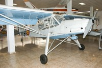 Morane-Saulnier MS 500 Criquet Spanish Air Force L.16-23 2027 Museo del Aire Madrid 2014-10-23, Photo by: Karsten Palt