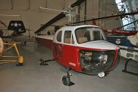 Bell Helicopter 47B  N116B 36 NASM Udvar Hazy Center Chantilly, VA 2014-05-28, Photo by: Karsten Palt