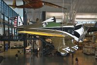 Boeing P-26A Peashooter United States Army Air Corps (USAAC)  7 33-135 NASM Udvar Hazy Center Chantilly, VA 2014-05-28, Photo by: Karsten Palt