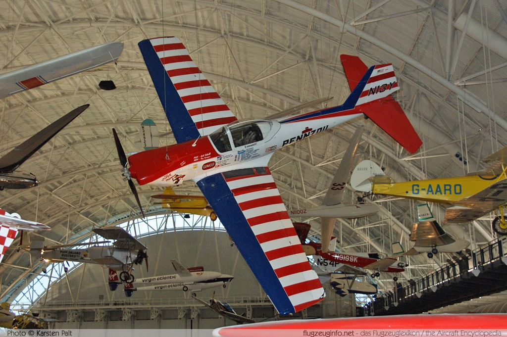 De Havilland Canada DHC-1A Chipmunk  N13Y 23 NASM Udvar Hazy Center Chantilly, VA 2014-05-28 � Karsten Palt, ID 10261