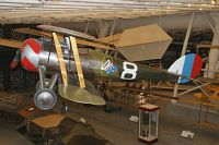 Nieuport N28-C-1 United States Army Air Service N4123A 6497 NASM Udvar Hazy Center Chantilly, VA 2014-05-28, Photo by: Karsten Palt