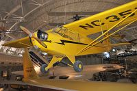 Piper J-3C-65 Cub  N35773 6578 NASM Udvar Hazy Center Chantilly, VA 2014-05-28, Photo by: Karsten Palt