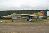Mikoyan Gurevich MiG-27K Russian Air Force 71 61912507006 Newark Air Museum Winthorpe, Newark 2013-05-18, Photo by: Karsten Palt