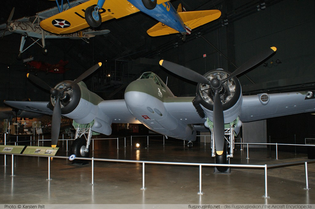 Bristol 156 Beaufighter Royal Australian Air Force (RAAF) A19-43  National Museum of the United States Air Force Dayton, Ohio / USA (Wright-Patterson AFB) 2012-01-11 � Karsten Palt, ID 5359