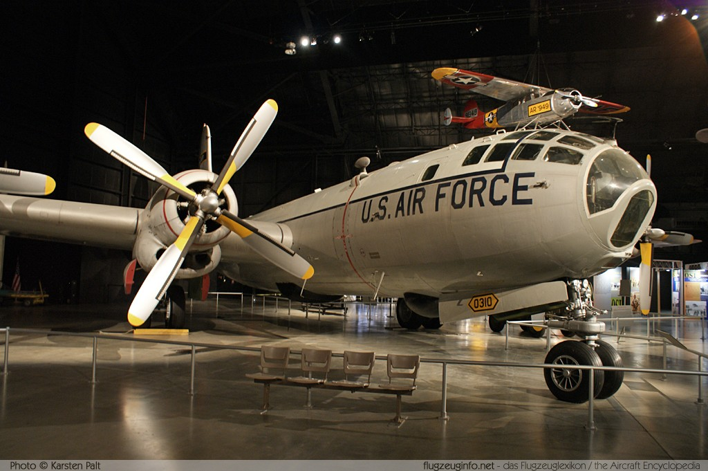 Boeing WB-50D Superfortress United States Air Force (USAF) 49-0310 16086 National Museum of the United States Air Force Dayton, Ohio / USA (Wright-Patterson AFB) 2012-01-11 � Karsten Palt, ID 5519