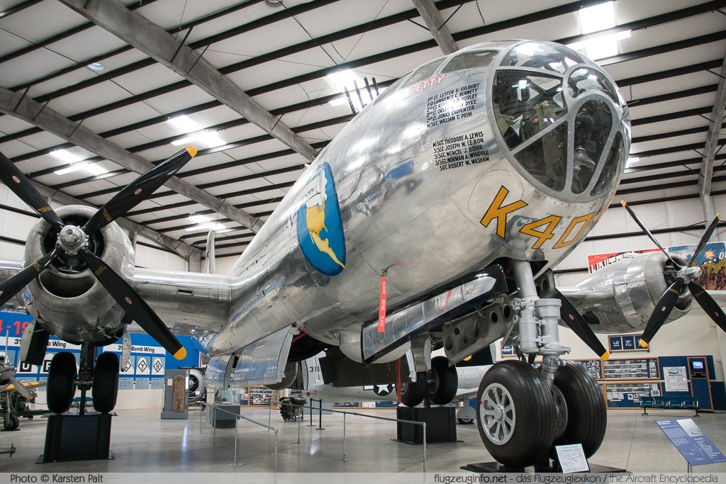 Boeing B-29 Superfortress United States Army Air Forces (USAAF) 44-70016 10848 Pima Air and Space Museum Tucson, AZ 2015-06-03 � Karsten Palt, ID 10909