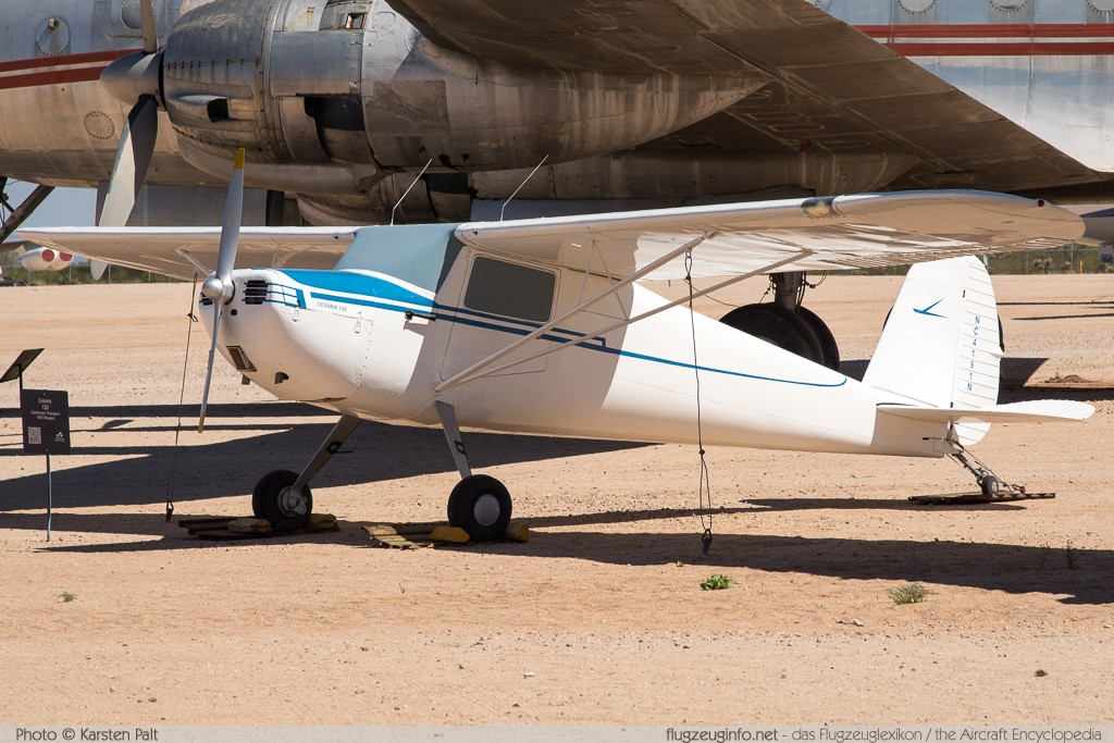 Cessna 120  NC4191N 13662 Pima Air and Space Museum Tucson, AZ 2015-06-03 � Karsten Palt, ID 10941