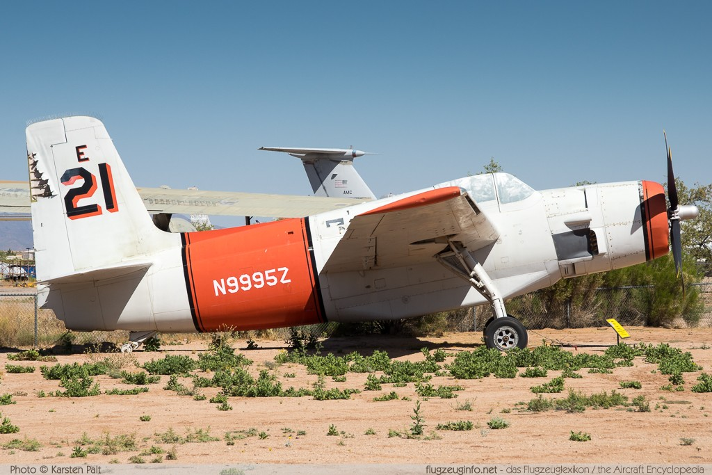 Grumman AF-2S Guardian  N9994Z 129233 Pima Air and Space Museum Tucson, AZ 2015-06-03 � Karsten Palt, ID 11037