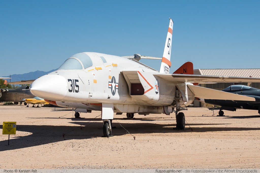 North American RA-5C Vigilante United States Navy 149289 269-24 Pima Air and Space Museum Tucson, AZ 2015-06-03 � Karsten Palt, ID 11156