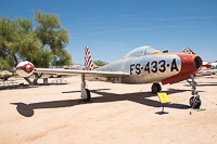 Republic F-84C Thunderjet United States Air Force (USAF) 47-1433  Pima Air and Space Museum Tucson, AZ 2015-06-03, Photo by: Karsten Palt