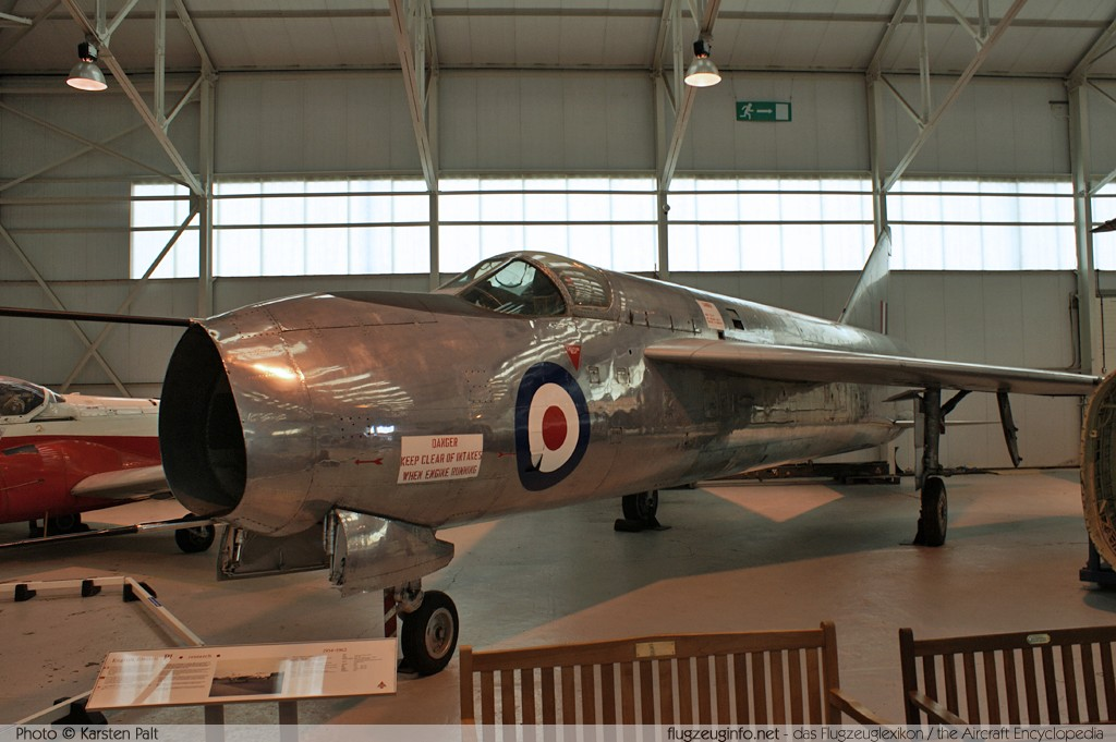 English Electric P1A  WL760 95001 Royal Air Force Museum Cosford Shifnal, Shropshire 2013-05-17 � Karsten Palt, ID 6687