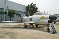 North American F-86L Sabre Royal Thai Air Force (RTAF) KH17K-5/06 201-125 Royal Thai Air Force Museum Bangkok 2013-02-09, Photo by: Karsten Palt