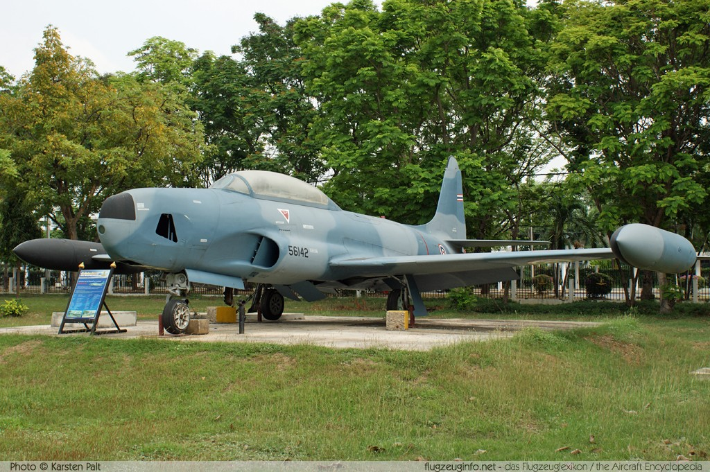 Lockheed RT-33A Royal Thai Air Force (RTAF) TF11-8/13 580-8612 Royal Thai Air Force Museum Bangkok 2013-02-09 � Karsten Palt, ID 6467