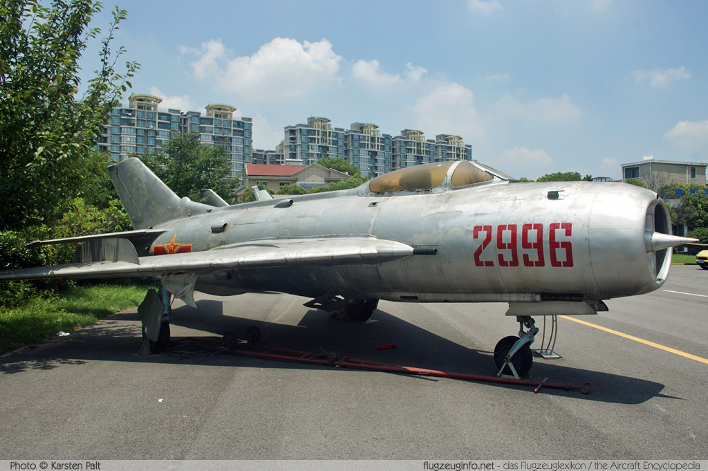 Shenyang J-6I Peoples Liberation Army Air Force 2996 0114 Shanghai Aerospace Enthusiasts Center Shanghai 2014-07-20 � Karsten Palt, ID 10388