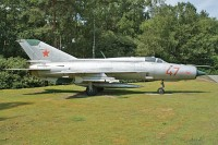 Mikoyan Gurevich MiG-21PFM, Russian Air Force, 47, c/n 940MS13,© Karsten Palt, 2009
