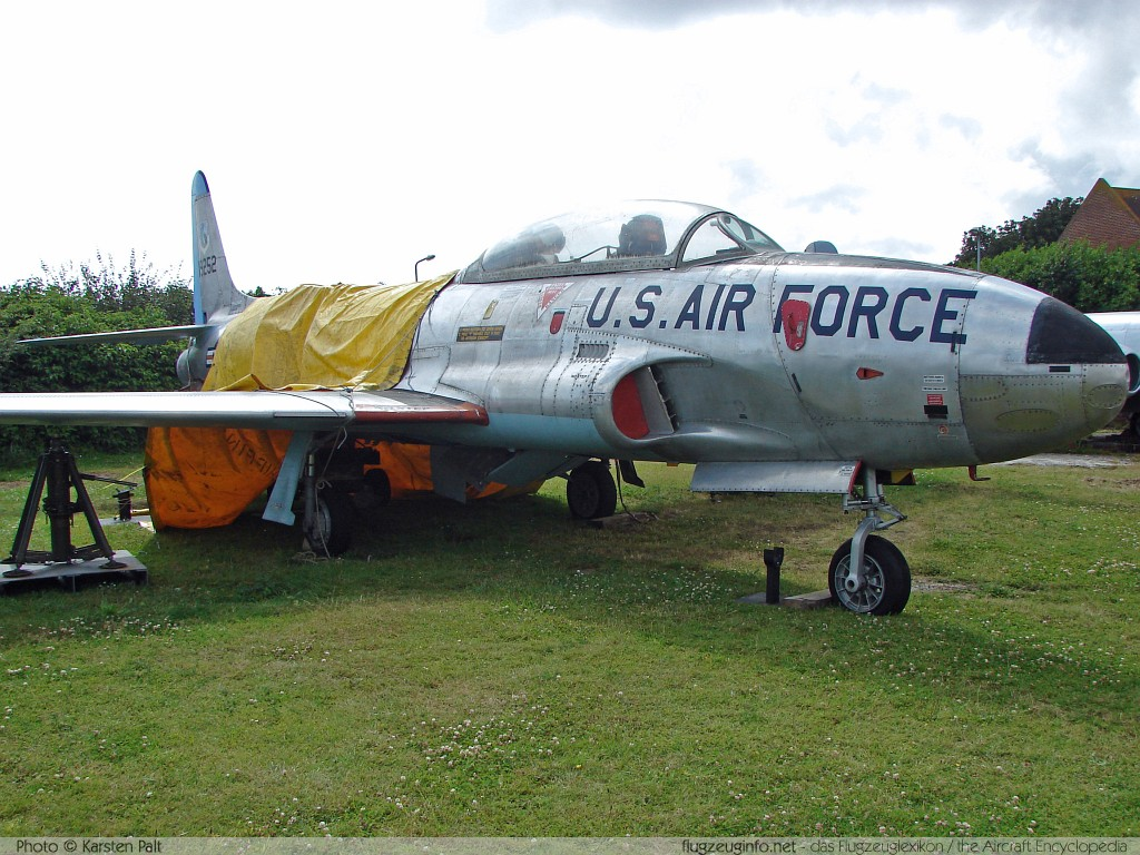 Lockheed T-33A United States Air Force (USAF) 51-9252 580-7036 Tangmere Military Aviation Museum Tangmere 2008-07-10 � Karsten Palt, ID 1015