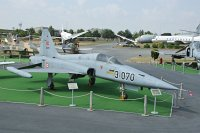 Northrop F-5A (NF-5A) Turkish Air Force 71-3070 3070 Turkish Air Force Museum Yesilkoy, Istanbul 2013-08-16, Photo by: Karsten Palt