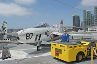 Grumman F9F-8P Cougar United States Navy 141702  USS Midway Aircraft Carrier Museum San Diego, CA 2012-06-13, Photo by: Karsten Palt