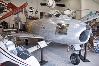 North American F-86F Sabre United States Air Force (USAF) 55-3937 227-122 Western Museum of Flight Torrance, CA 2015-05-31, Photo by: Karsten Palt
