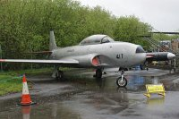 Lockheed (Canadair) T-33AN / CT-133 Silver Star 3 Canadian Air Force 133417 T33-417 Yorkshire Air Museum Elvington 2013-05-18, Photo by: Karsten Palt