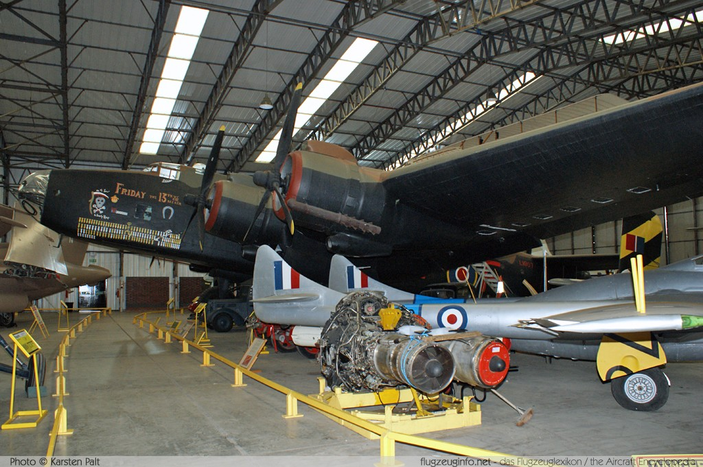 Handley Page H.P.59 Halifax B2 Royal Air Force LV907  Yorkshire Air Museum Elvington 2013-05-18 � Karsten Palt, ID 7032